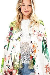 Kimono Off White Farm