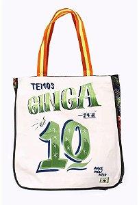 Bolsa Maxi Estampada Ginga Farm