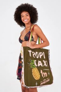 Bolsa Maxi Estampada Tropicália Farm