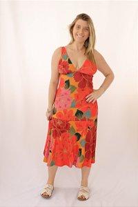 Vestido Midi Chita Solar Farm