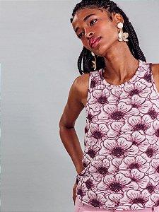 Blusa Malha MVS Thirty Plus Papoula Lez a Lez