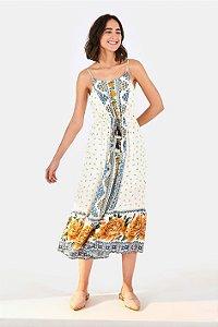 Vestido Midi Liberty Flori E Farm
