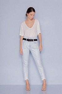 Calça Jeans Carol com Cinto Indigo Open