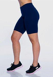 Bermuda Ciclista Azul Marinho