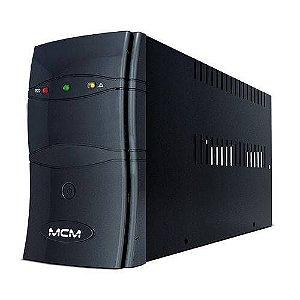 Nobreak MCM 1300VA UPS1300 ONE 3.1, 6 Tomadas, Bivolt/115V