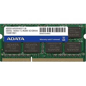 Memoria Adata 4gb 1600mhz Ddr3l