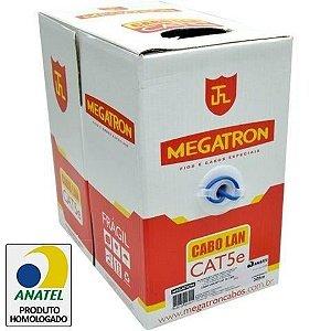 CAIXA DE CABO 4 PARES 305 METROS - MEGATRON