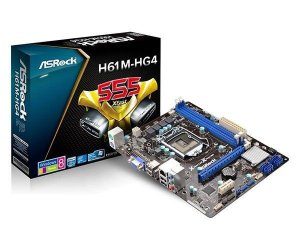 PLACA MAE ASROCK H61M-HG4 DDR3 SOCKET LGA1155 CHIPSET INTEL H61