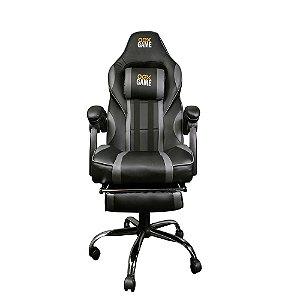 Cadeira Gamer Gc300 Preto/Cinza - OEX
