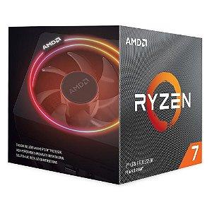 Processador AMD Ryzen 7 3700X 32MB 3.6GHz (4.4GHz Max Turbo) AM4, Sem Vídeo - 100-100000071BOX