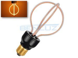 Lâmpada LED 8W filamento 3D Branco quente 2200K Bivolt