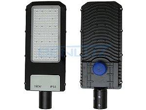 Luminária Publica LED 150W de poste Fotoelétrico Branco Frio 6500K