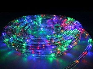 Mangueira de LED Redonda Colorida Por Metro