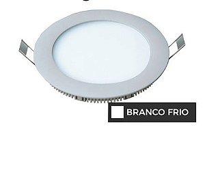 Luminária Painel Plafon LED 12W de Embutir 17x17 Branco Frio