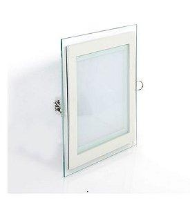 Painel Quadrado Led de Embutir 18W Muda 3 Cores De Luz  ( Branco Frio,Morno e Quente )
