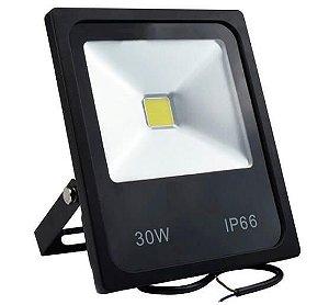 Refletor Holofote LED - 30W - Bivolt