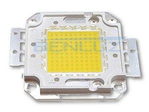 Chip para Refletor LED 100W - Branco Frio