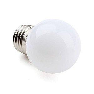 Lâmpada Bulbo - 2W- Bolinha-Branco Quente