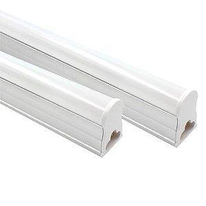 Lâmpada Tubular de Led T5- 18W  -120 cm- Fosco-Com Calha