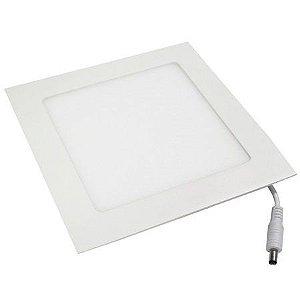 Luminária Painel Plafon LED 18W de Embutir 22x22 Branco Frio