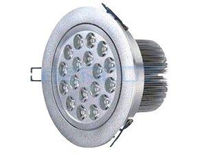 Spot LED em Alumínio 18W Redondo de Embutir - Direcionável Bivolt