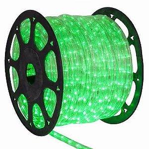 Mangueira de LED Verde 12MM  Rolo com 100 Metros