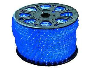 Mangueira de LED 12MM - Rolo com 100 Metros - Azul