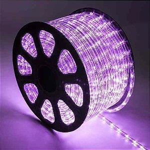 Mangueira de LED LILAS Rolo com 50 Metros 110V