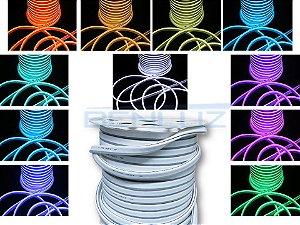 MANGUEIRA NEON DE LED FLEXÍVEL ROLO COM 100 METROS RGB