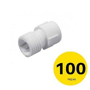 KIT de 100 Emendas para Mangueira de LED