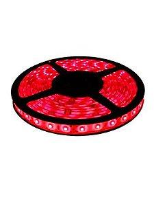 Fita LED SMD 3528 Vermelha sem Silicone IP20 5M 12V