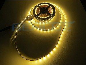 Fita LED 5050 Branco Quente sem Silicone 5M 12V