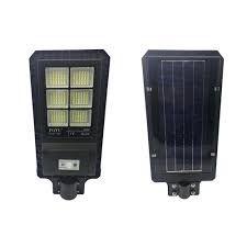 Luminária Pública LED 120W c/ Painel Solar