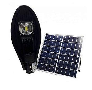 Luminária Led Poste - 50W - Luz Solar - IP65