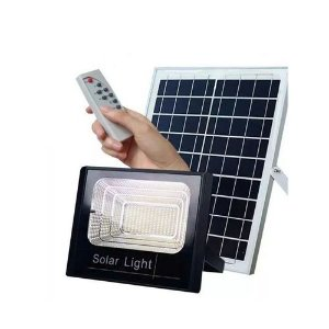 Refletor Holofote de 10W Led Solar com Placa Solar  Branco Frio Ip65