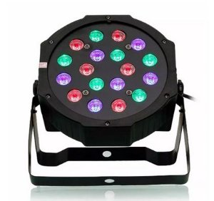Canhão Refletor Led RGB 36 Leds - DMX - Jogo Luz Iluminação