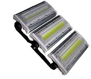 Refletor Modular LED 150W Linear Blindado Branco Frio