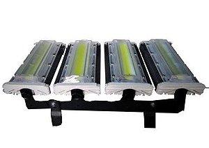 Refletor Led Modular 200w 100% Blindado Branco Frio Bivolt Foco Regulável