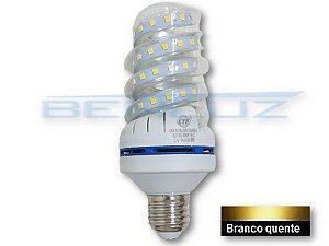 Lâmpada Espiral LED 12W - Branco Quente