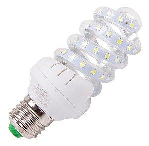Lâmpada Espiral LED 16W - Branco Frio Bivolt