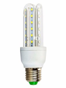 Lâmpada LED Milho 3W  - 3U Branco Quente Bivolt