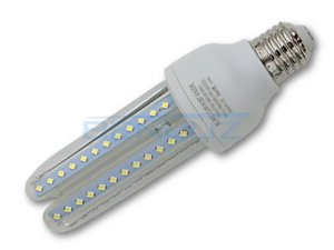 Lâmpada de LED Milho 3U 12W Branco Frio Bivolt