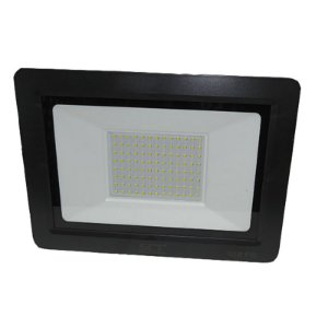 Refletor Super Led Slim 50W Branco Frio Ip66