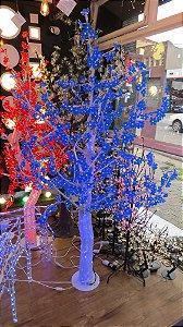 Árvore de Cerejeira Led 596 Led's - 1,80 Metros - Azul