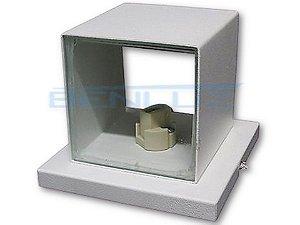 Arandela Cubo de LED com Base Quadrada Branca BASE G9