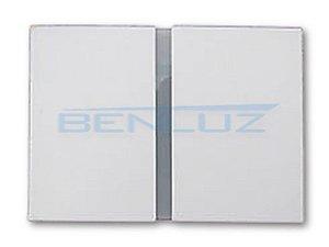 Arandela Frisada Branca de LED 5W Branco Quente 2 Fachos