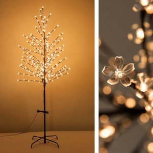 Cerejeira de LED Branco Quente 110cm  BiVolt