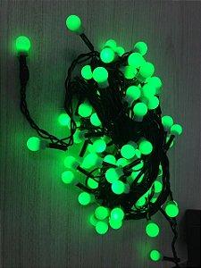 Pisca Pisca 100 Bolas de  LED com 8 Funções de Pisca - 127V