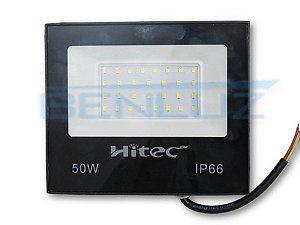Refletor de LED Mini Ligth 50W Branco Frio A Prova d'água