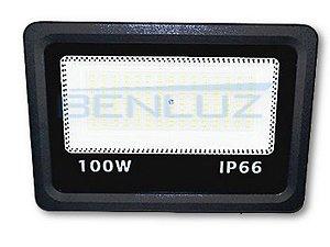 Refletor Holofote De LED 100W - Mini Branco Frio A Prova d'água